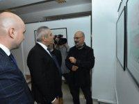 Kıbrıs Modern Sanat Müzesi için özel hazırlanan 227 eserden oluşan 9 sergi Ekonomi ve Enerji Bakanı Taçoy tarafından açıldı