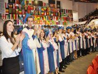Bin 486 öğrenci diploma aldı