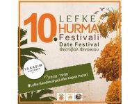 Lefke Hurma Festivali 10 Kasım'da