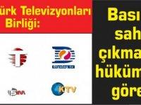 Kıbrıs Türk Televizyonları Birliği: Basına sahip çıkmak da hükümetin görevi