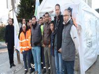 'Umut Çadırı'nda mücadele