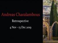 """""""Andreas Charalambous Retrospektif"""" sergisi eş zamanlı Bellapais Manastırı ve Art Rooms Galeri'de açılıyor"""