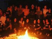 Yakın Doğu Koleji 12. Sınıf Öğrencileri Çadır Kampı'nda eğlenceli vakit geçirdi