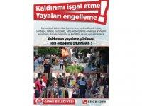 Girne Belediyesi kamuya ait kaldırım ihlalinde bulunan işletmelere ve tüm motorlu araçlara ceza uygulayacak