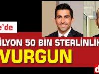Girne'de 3 milyon 50 bin sterlinlik vurgun