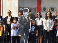 Atatürk İskele'de  de anıldı