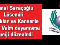 Kemal Saraçoğlu Lösemili Çocuklar ve Kanserle Savaş Vakfı dayanışma yemeği düzenledi