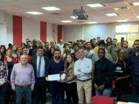 Globaltex Fine Lens CEO'su Ramazan Patak DAÜ'de söyleşi gerçekleştirdi