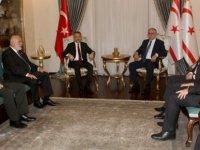 Cumhurbaşkanı Akıncı, Türkiye Cumhurbaşkanı Yardımcısı Oktay başkanlığındaki heyeti kabul etti