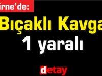 Girne'de Bıçaklı Kavga! 1 yaralı var