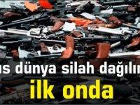 Kıbrıs dünya silah dağılımında ilk onda