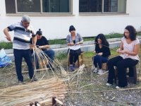 Gençlerden, GİGEM'in İskemlecilik Kursuna Yoğun Talep