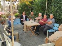 Pilli, Aydınköy'ü ziyaret ederek vatandaşlarla bir araya geldi.