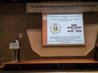 Sivil Savunma Teşkilatı Başkanlığı TIEMS konferansına katıldı