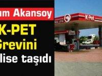 Asım Akansoy K-PET Grevini meclise taşıdı