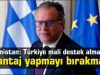 Yunanistan: Türkiye mali destek almak için şantaj yapmayı bırakmalı
