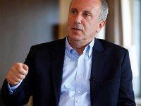 Erdoğan'ın konuşması nedeniyle sözü kesildiği için yayını terk eden İnce: Herkese yapıyorlarmış, bana yapamazlar