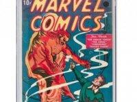 Marvel'ın ilk çizgi romanı 1.26 milyon dolara satıldı
