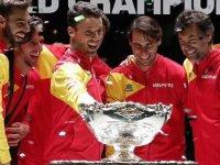 Teniste Davis Kupası'nı İspanya kazandı