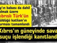 Güney'de 18 Kıbrıs'lı öldürülmüştü:Savaş suçu işlendiği kanıtlandı