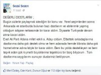 AKP'ye Kıbrıs'tan bir milletvekili  adayı daha