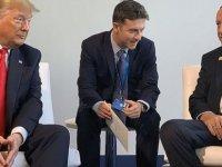 NATO Zirvesinde Erdoğan ile Trump Biraraya Geldi