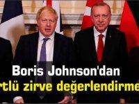 Boris Johnson'dan dörtlü zirve değerlendirmesi
