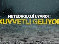Sağanak yağış etkili olacak...