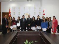 Igcse sınavlarında birincilik alan öğrenciler ödüllendirildi