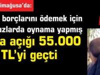 Borçlarını ödemek için  makbuzlarda oynama yapmış:Para açığı 55.000 TL'yi geçti