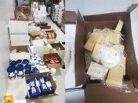 Kilolarca kaçak peynir ve donmuş gıdaya polis el koydu