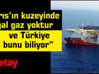"""""""Kıbrıs'ın kuzeyinde  doğal gaz yoktur ve Türkiye bunu biliyor"""""""
