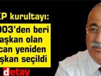 BKP kurultayı: 2003'den beri başkanolan  İzcan yeniden başkan seçildi