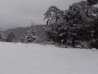 Trodos'a ilk kar düştü! (VİDEO)