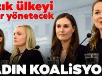 Dünyanın en genç kadın Başbakanı! Finlandiya'yı kadınlar koalisyonu yönetecek
