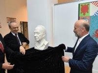 Taçoy, Türksal İnce İle Taylan Oğuzkan'ın Kıbrıs Modern Sanat Müzesi için hazırladıkları iki ayrı serginin açılışını yaptı