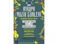 Avrupa Müzik Günleri çerçevesinde Sarayönü Meydanı'nda kış konseri