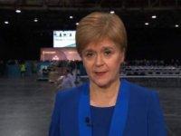 SNP lideri Sturgeon: İskoçya 'Biz bir Boris Johnson hükümeti istemiyoruz. AB'den ayrılmak istemiyoruz' dedi