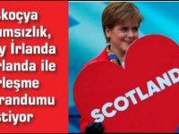 İskoçya bağımsızlık, Kuzey İrlanda ise İrlanda ile birleşme referandumu istiyor