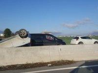 Alayköy- Kermiya yolunda kaza