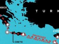 """Rum basını: """"4'lü ittifak su alıyor!""""Güney Kıbrıs EASTMED'den dışlanıyor..."""
