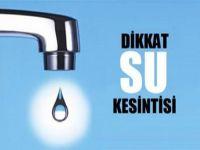 Dikkat.... Gazimağusa'da su kesintisi