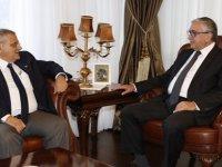 Cumhurbaşkanı Mustafa Akıncı, DAÜ heyetini kabul etti