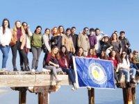 """DAÜ-YDİHO """"Çevre ve Doğa"""" projesi kapsamında Bedis piknik alanı ve sahilini temizledi"""