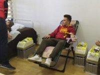 LAÜ'de kan bağışı kampanyası düzenlendi