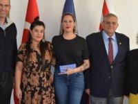 Yazar Chımene Suleyman Daü İletişim Fakültesi'nde Seminer Verdi
