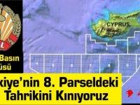 AKEL Basın Sözcüsü: Türkiye'nin 8. Parseldeki  Yeni Tahrikini Kınıyoruz