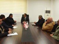 Sucuoğlu, Kıbrıs Türk Hayvan Yetiştiricileri ve Üreticiler Birliği heyetini kabul etti