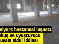 Güzelyurt hastanesi inşaatında fuhuş ve uyuşturucu iddiası!