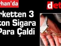 Marketten 3 Karton Sigara Ve Para Çaldi